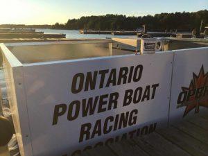 Ontario Power Boat Racing Muskoka Beach Park, Gravenhurst, Ontario