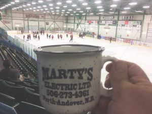 Hockey Camp at AYR Motor Centre, Woodstock, New Brunswick -Caroline Ouellette