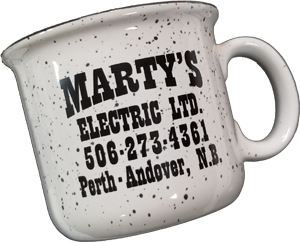 Marty Mug on the Move Logo
