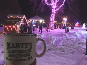 Christmas in the Park, Perth Andover, New Brunswick